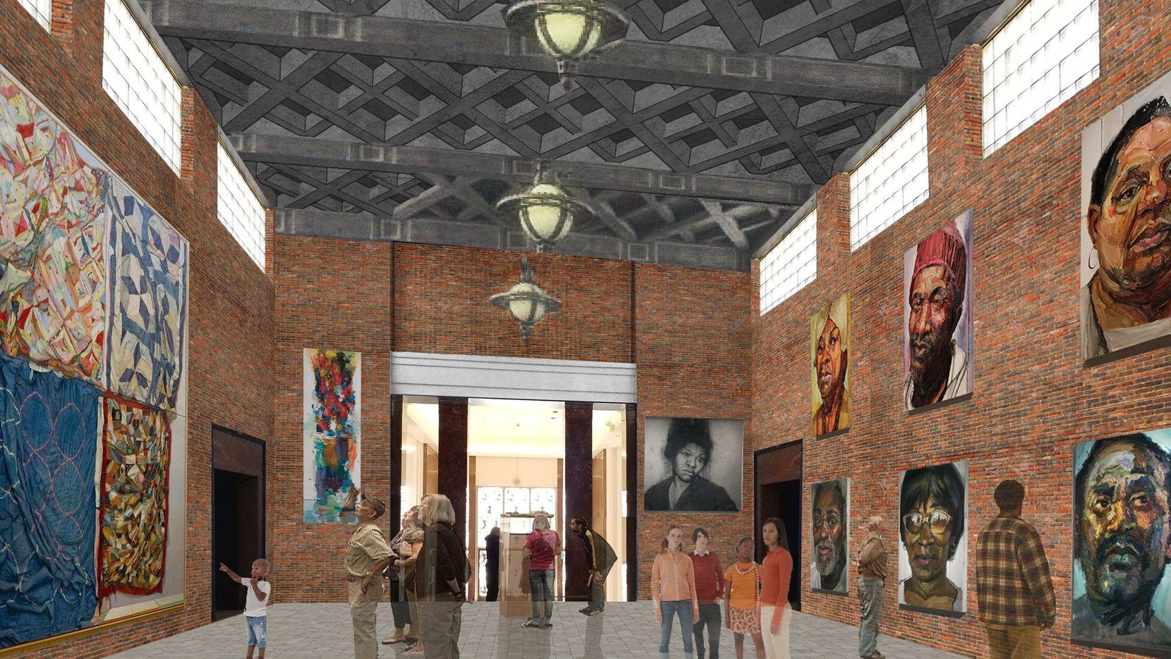 Cómo se vería el nuevo Museum of Texas Art en Fair Park. TACA está distribuyendo más de $300,000 en una primera ronda de apoyos a 50 organizaciones artísticas locales.