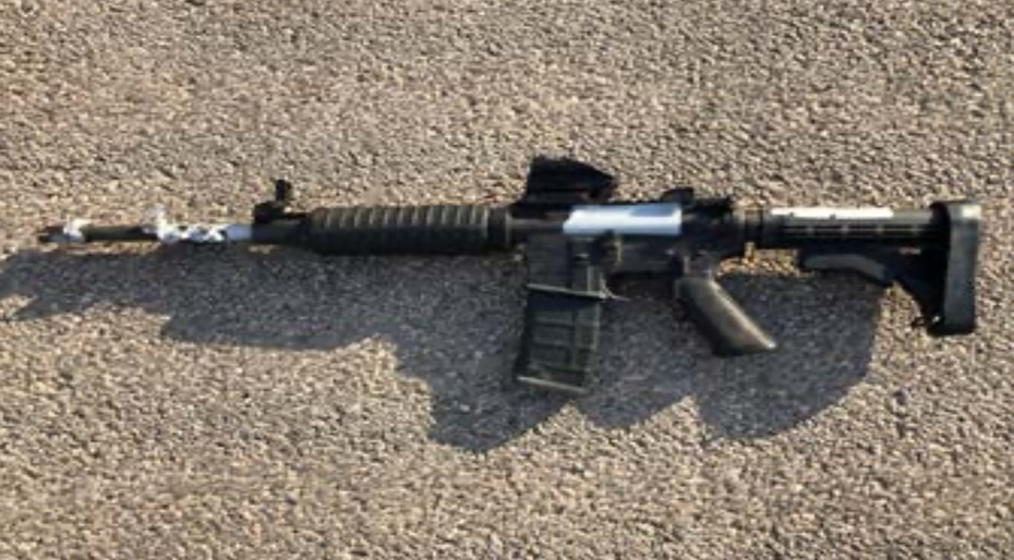 Authorities released an image of the gun Seth Ator used during his shooting spree in August 2019.