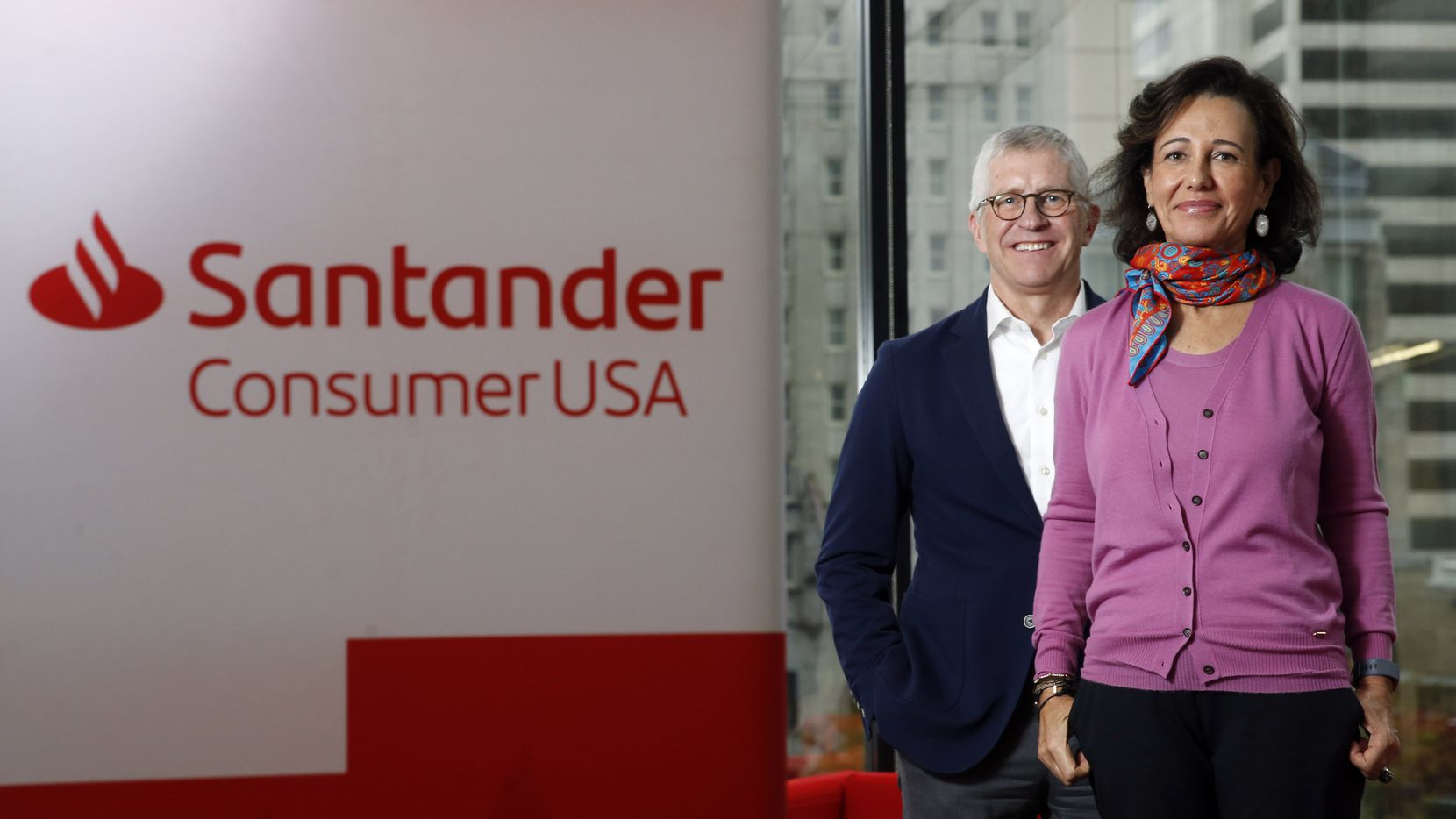 Scott Powell, CEO of Santander Consumer USA, and Ana Botin, chairman of the parent company, are trying to raise the Dallas company's profile now that the subprime auto lender has addressed many legal and regulatory problems.