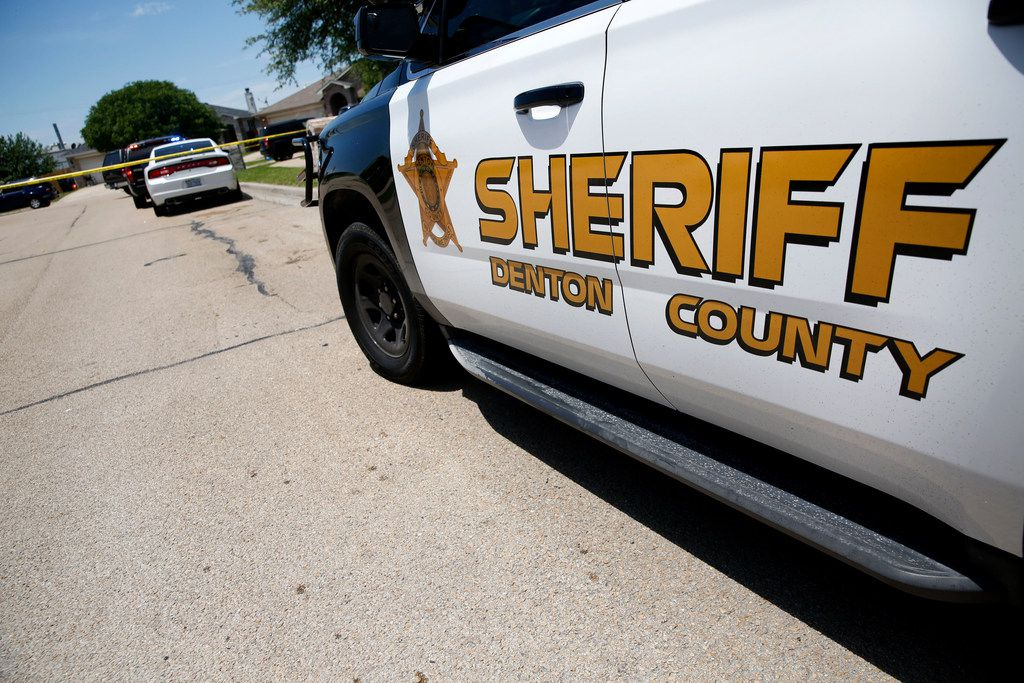 Denton County Sheriff's officers responded to alleged racial vandalism and threats of violence in a neighborhood near Frisco.