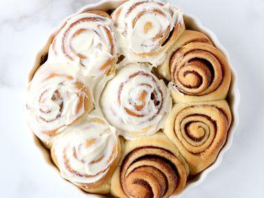 The ultimate cinnamon roll recipe from Kristen Massad