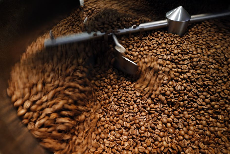 Ask any Ascension employee what they're most proud of, and they're bound to say the coffee beans. The shop was built on the premise that it should source beans from all over the world, from countries like Brazil, Rwanda and Kenya.