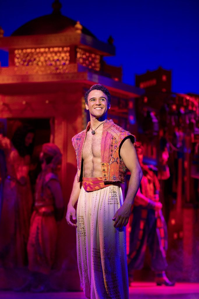 Clinton Greenspan plays the title role in Aladdin in the Dallas Summer Musicals production being staged at the Music Hall at Fair Park in June.