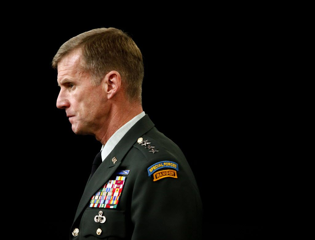 Gen. Stanley McChrystal will discuss Leaders: Myths and Reality at two World Affairs Council events on Dec. 3 and 4, 2018.