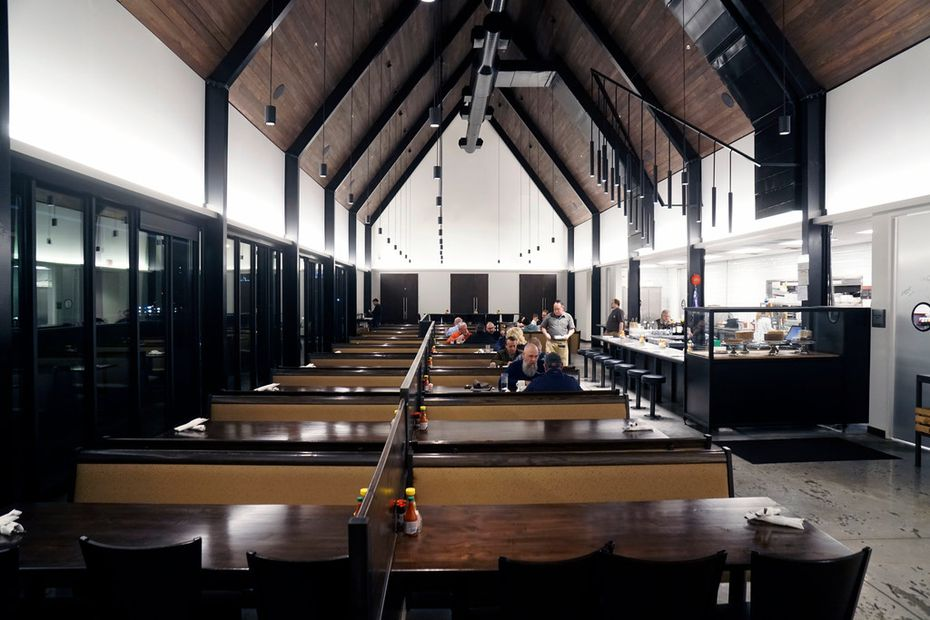 The Mockingbird Diner had a cathedral-like feel inside.