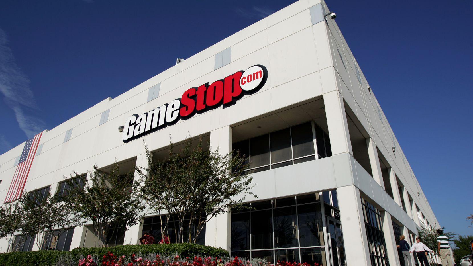 GameStop corporate headquarters in Grapevine.