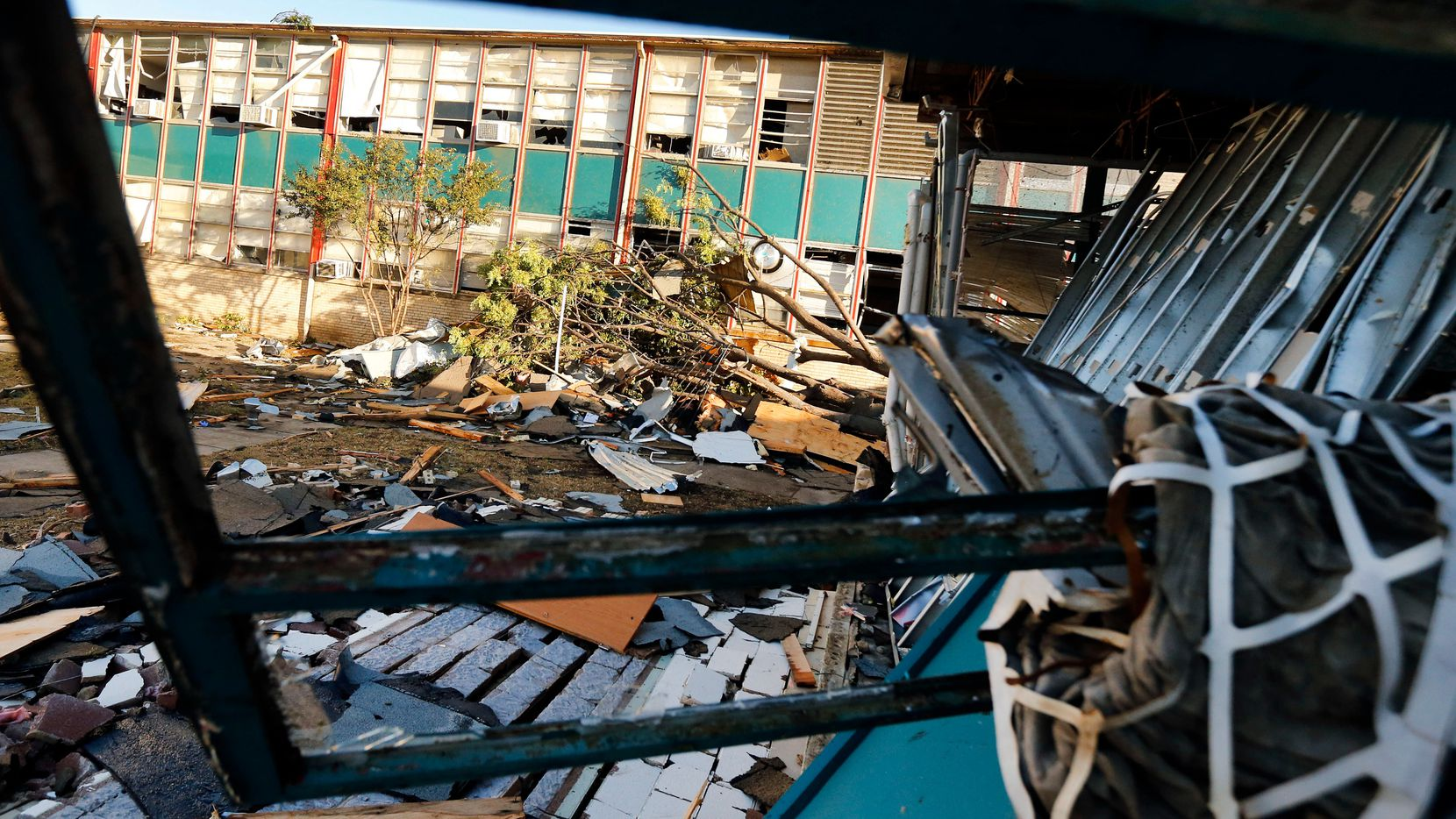 A trio of DISD schools, including Cary Middle School, were hit by the tornadoes in late October.
