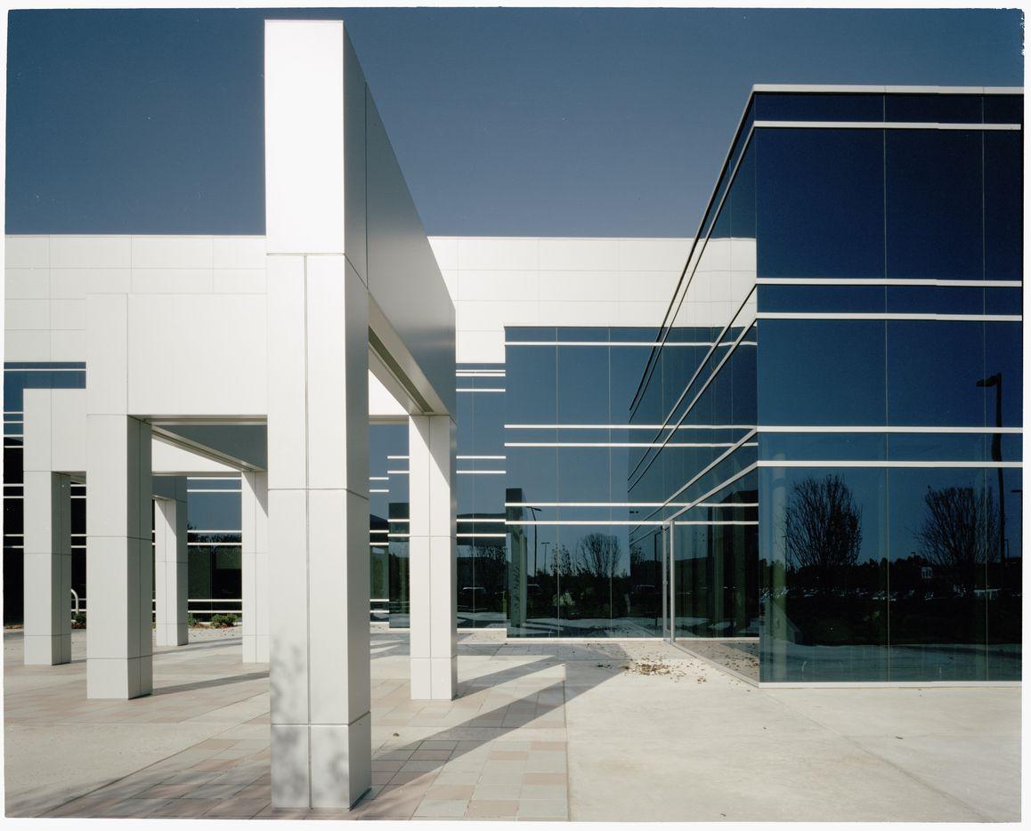 The 1988 headquarters for Mitsubishi, by Kajima International, in Cypress, California.