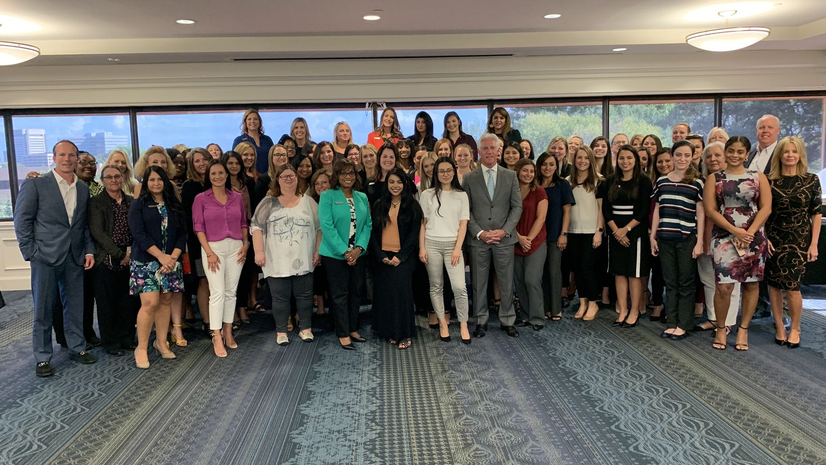 Park Place Dealerships Women in Automotive Council met September 18 to share professional experiences and plan external events encouraging women to pursue careers in the automotive industry. The day's theme was A Seat at the Table.