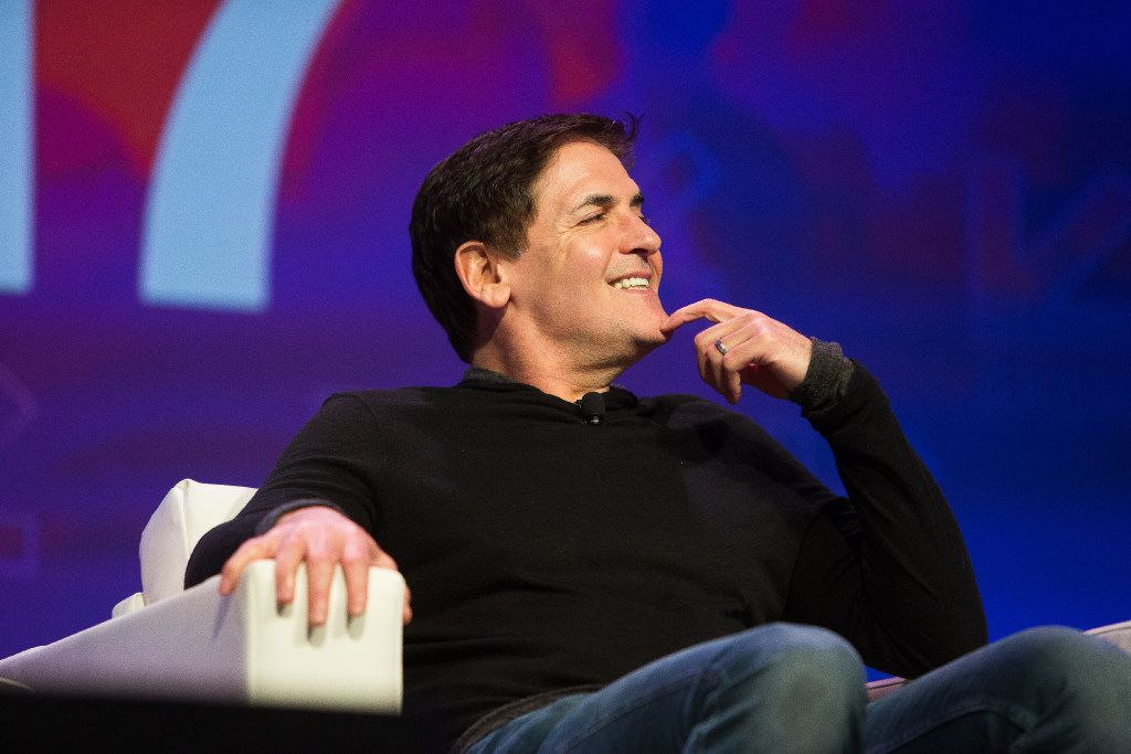 Mark Cuban appears on a panel about technology and disruption in government during the 2017 SXSW Conference at the Austin Convention Center in March .(Julia Robinson/Special Contributor)