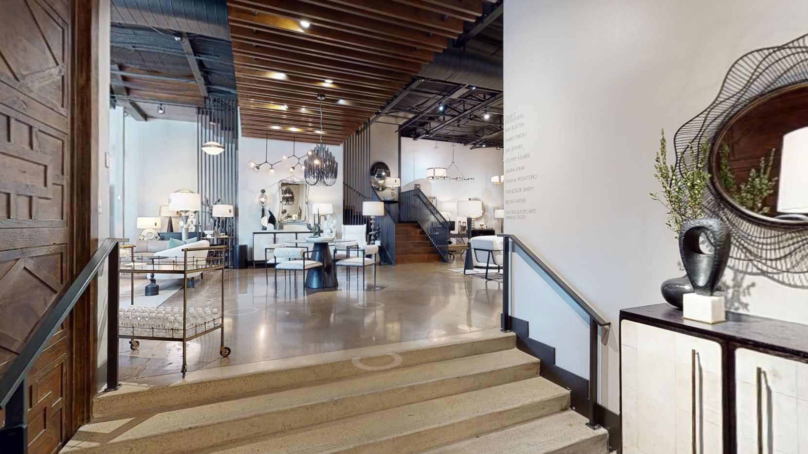 Arteriors has its flagship showroom in Dallas' Design District.