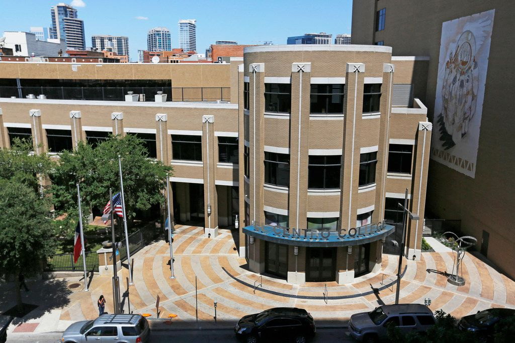 Dallas College wants to use part of its bond to revamp El Centro College. But the $1 billion package is on hold during a lawsuit alleging election wrongdoing.