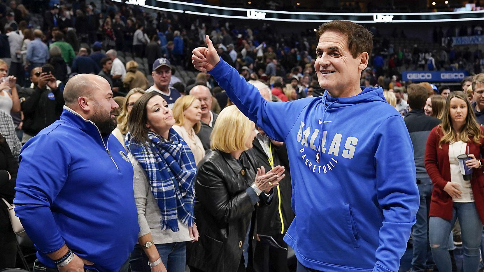 El dueño de los Dallas Mavericks, Mark Cuban, tiene un plan para que la NBA reactiva su temporada.