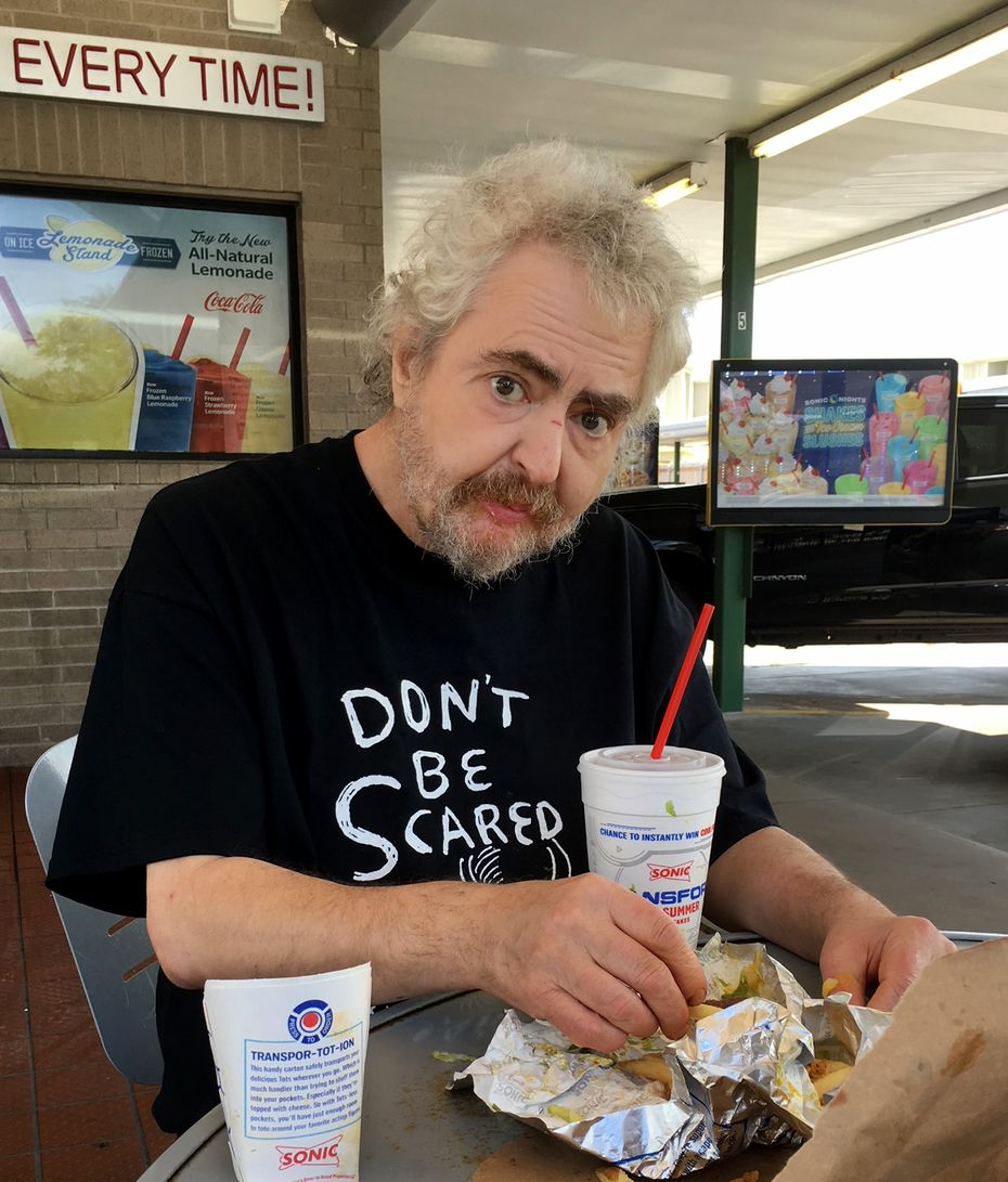 Daniel Johnston, shown here in 2017, two years before his death, led a troubled life.
