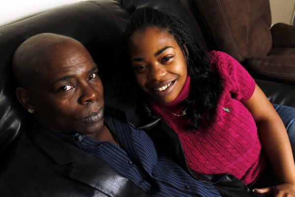 Charles Chatman and Tishia Jones live modestly, taking walks, going to movies and taking their 2-year-old daughter out for pizza.