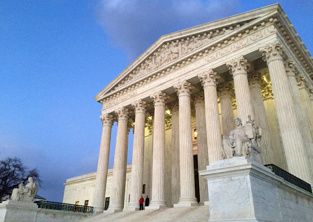 La Corte Suprema de los Estados Unidos (ARCHIVO/AP)