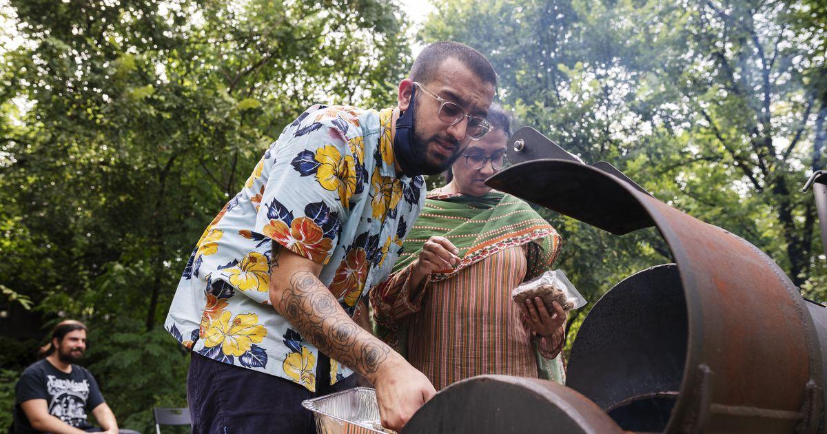 www.dallasnews.com: Dallas-based Pakistani painter mixes art and food at PunjabiTex BBQ pop-up