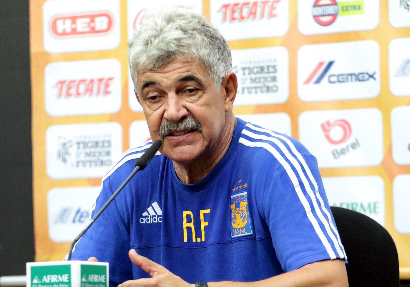 El entrenador de Tigres, Ricardo Ferretti, ha llevado al equipo a ganar cinco títulos en la Liga MX.