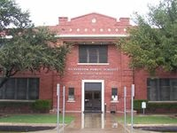 The Richardson ISD administration building has stood in its current location on Greenville Avenue for a century. COVID-19 student cases in the district have reached 66% of the total number that was reported throughout the entire 2020-21 school year.