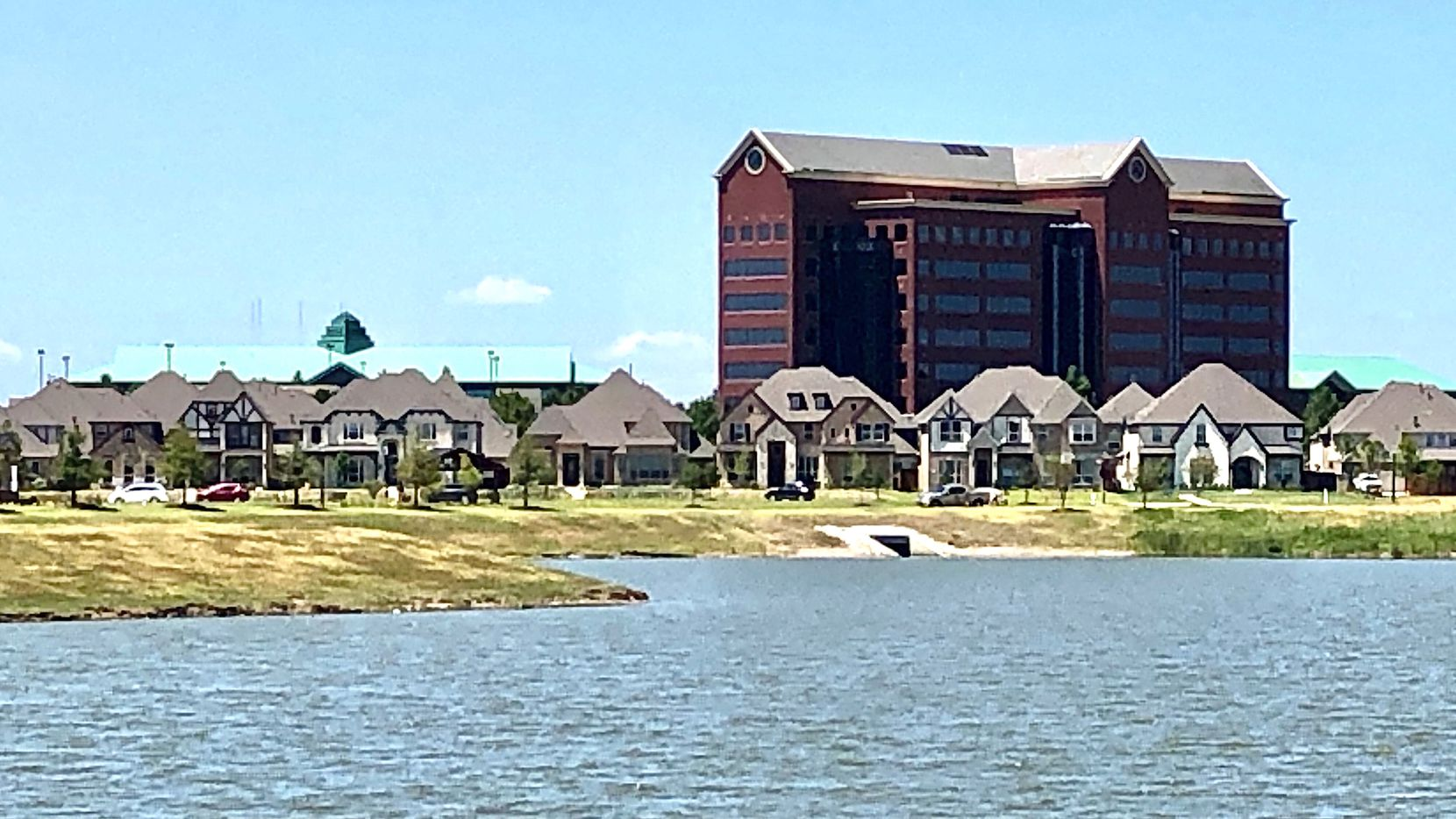 Centurion American is planning the waterside development in its Mercer Crossing project in Farmers Branch.