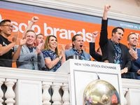North Texas' Solo Brands rings the NYSE bell to kick off trading on Thursday in celebration of its listing.