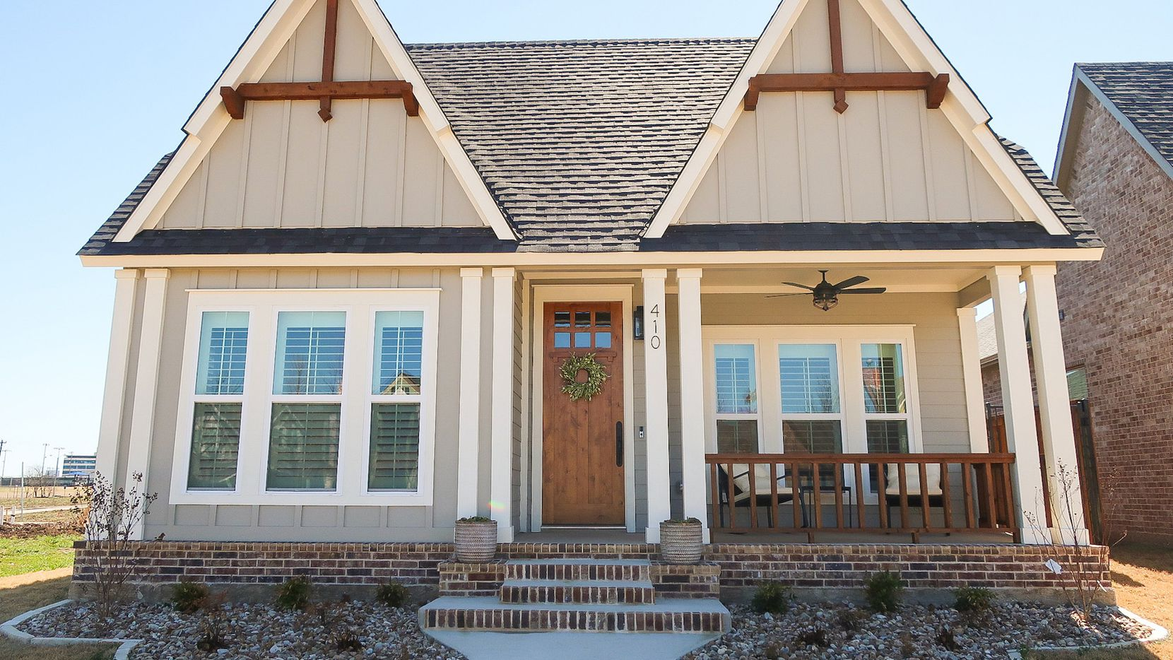 This cottage, presented by LIV Design + Build, is in the mixed-use Midtowne community of Midlothian.