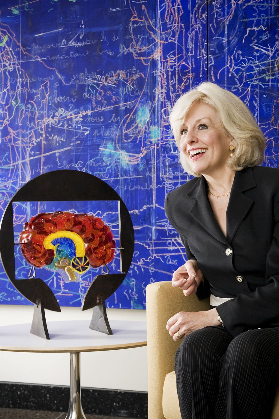 Dr. Sandra Bond Chapman, founder and chief director of the Center for BrainHealth and co-leader of The BrainHealth Project in Dallas.