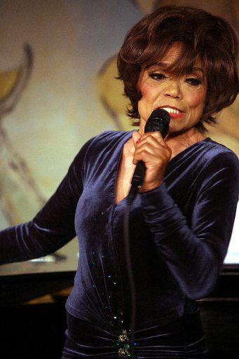 Eartha Kitt performs at the Cafe Carlyle in New York on June 7, 2006.