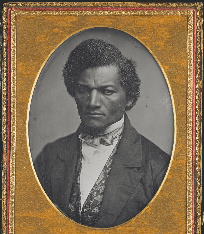 This image provided by the National Gallery of Art shows a daguerreotype of Frederick Douglass, 1847 - 1852 circa.