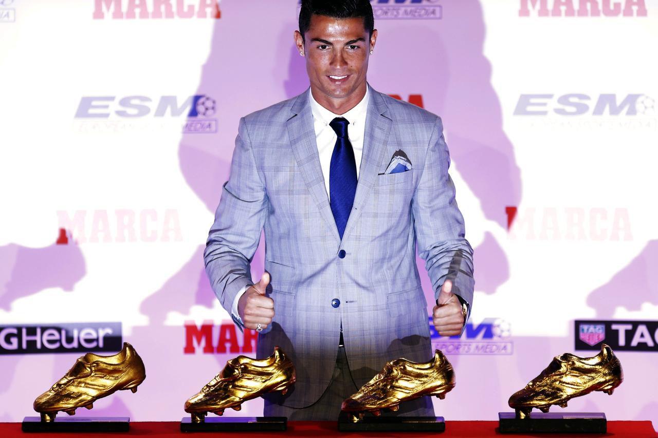 Cristiano Ronaldo anotó 48 goles en 35 partidos en la liga española. (AP/FRANCISCO SECO)