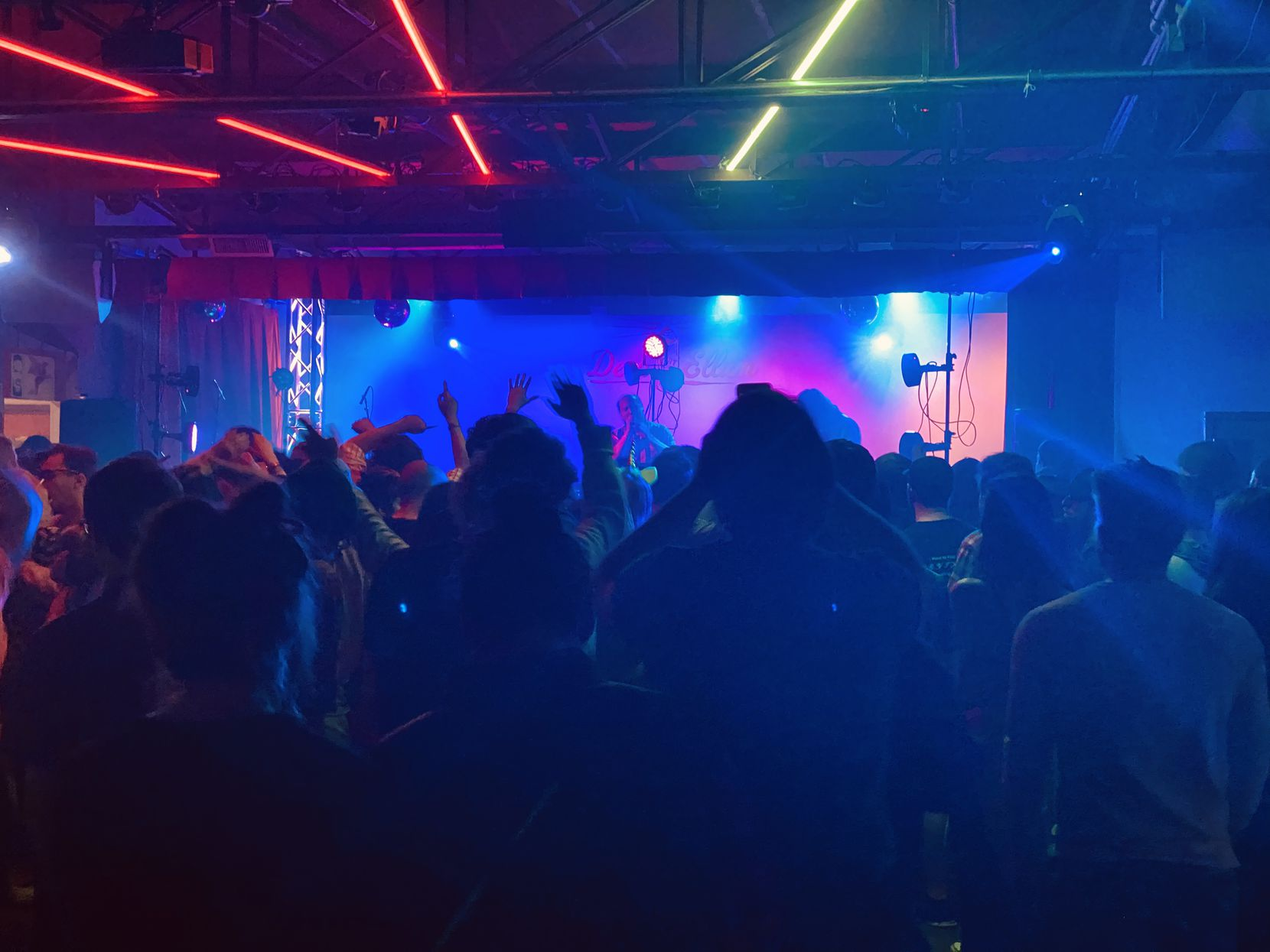 Dan Deacon performs at Deep Ellum Art Co. on Sunday, March 8 in Dallas, Texas.