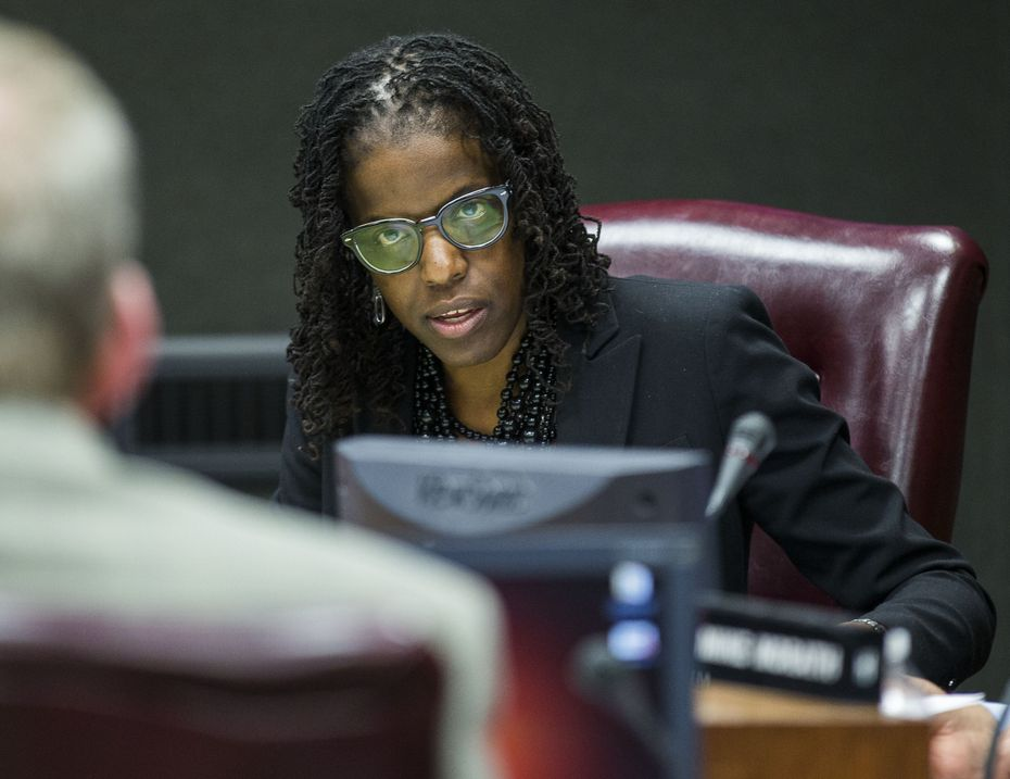 Bernadette Nutall is up for re-election next year along with two other Dallas ISD trustees.