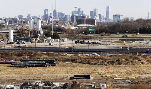 Este es el área del antiguo Texas Stadium, en Irving, donde se han reportado epicentros de leves temblores.