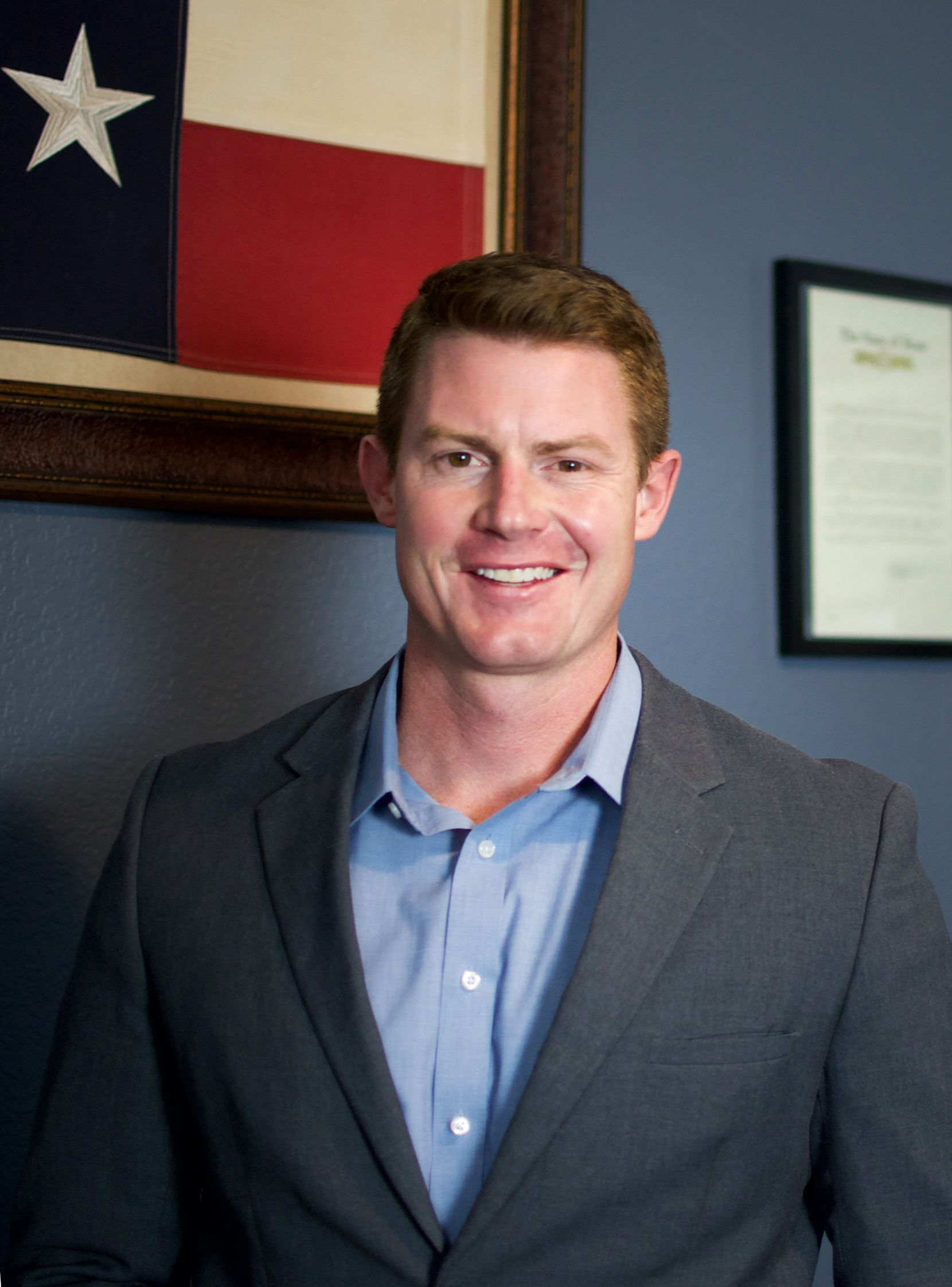 Michael Wood is a Republican candidate in the special election to replace Ron Wright in District 6.