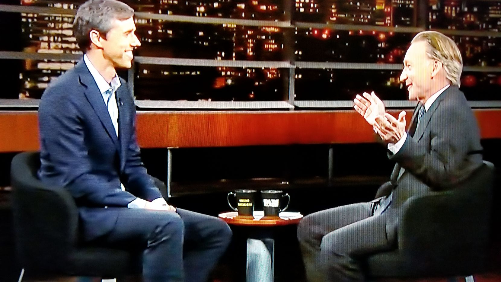 El Paso Rep. Beto O'Rourke, the Democrat challenging Texas Sen. Ted Cruz for his Senate seat this fall, appeared on Real Time with Bill Maher on Friday.