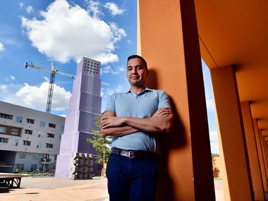 Benjamín Espino, director of the Latino Cultural Center, aims to help the LCC realize its expansion goals, albeit in a more scaled-back form than was called for in the original plans.