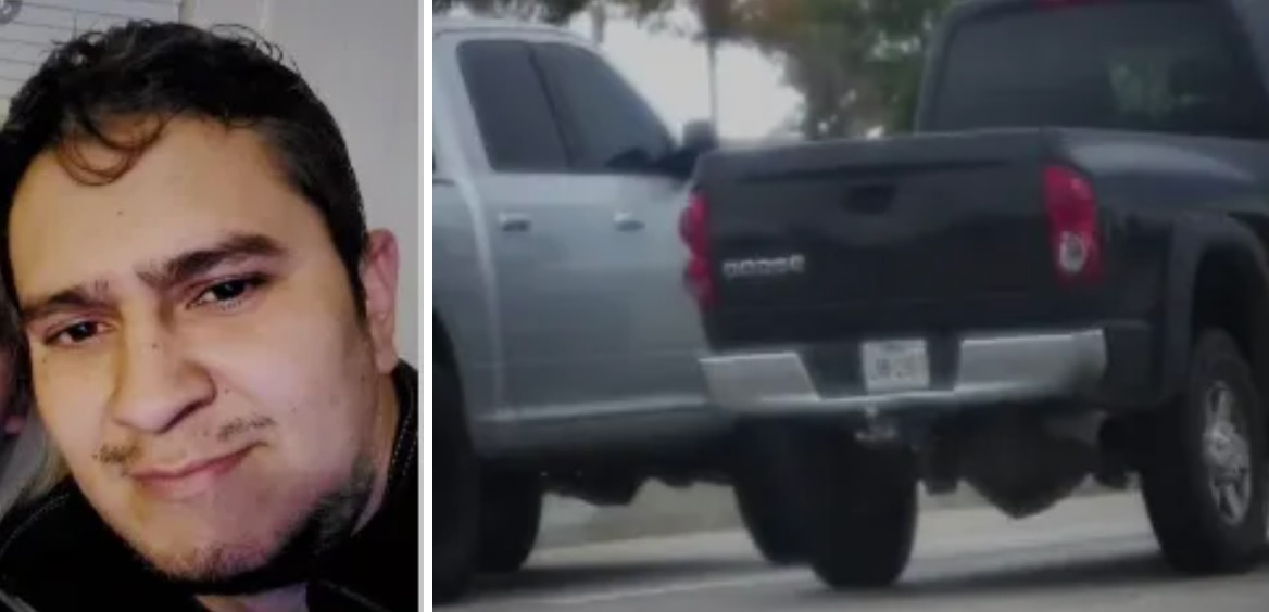 Police are searching for Ricardo Navarro-Carvajal, who they said drove off in his 2008 black Dodge Ram truck after a shooting.