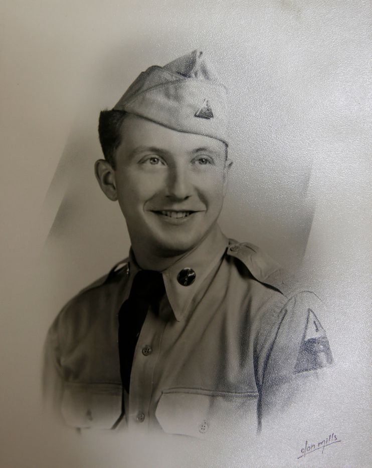Max Glauben came to the United States in 1947. A few years later, he was drafted by the U.S. Army to serve in the Korean conflict.