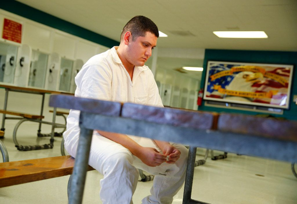 Enrique Arochi, shown here in the Texas Department of Criminal Justice's Robertson Unit in Abilene on Dec. 16, is appealing his conviction and sentence in the aggravated kidnapping of Christina Morris.