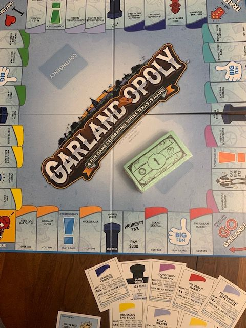 Garland-Opoly, a localized spinoff of Monopoly, hit the shelves of Walmart last month. The games sold out within a week, the game's creator Late for the Sky said.