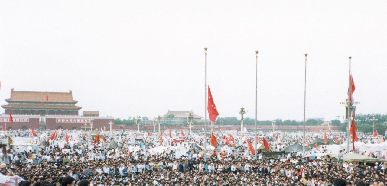 China's Tiananmen uprising of 1989 is remembered today mainly for the brute force — the gunfire and tanks — with which China's ruling Communist Party, on June 4, snuffed out the peaceful protests centered in Beijing's vast Tiananmen Square.