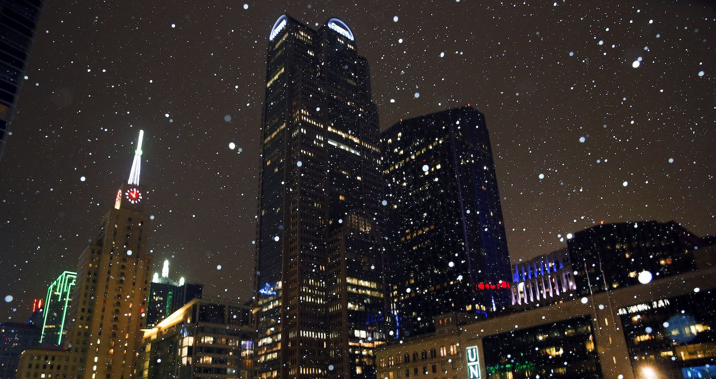 Podría caer nieve en partes del Norte de Texas. DMN