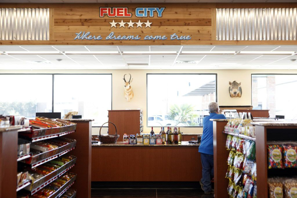 The register counter at the new Fuel City gas station, on Wednesday, Sept. 23, 2015 in Mesquite. Ben Torres/Special Contributor