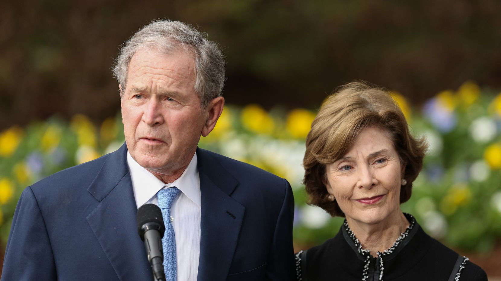 Former President George W. Bush and his wife, Laura, will attend President-elect Joe Biden's inauguration later this month.