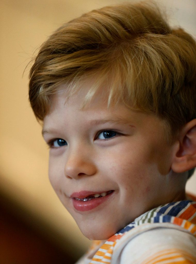 Will Woleben, 6, of McKinney, has a rare neurodegenerative disease called Leigh syndrome.