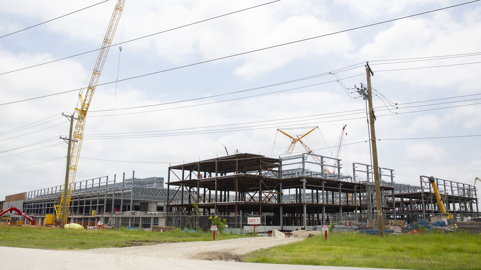 Construction of Texas Instruments' massive chip plant is underway in Richardson. Two years ago, the $3.6 billion project was granted a Chapter 313 tax break worth about $100 million, but the state program is scheduled to end in December 2022 — unless advocates can resurrect it in a different form.