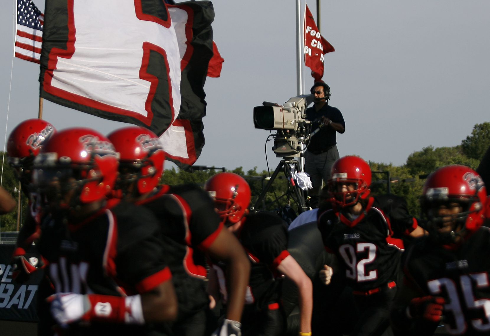 ESPN has televised several high school football games in the Dallas area over the years, including this 2009 game between Cedar Hill and DeSoto.