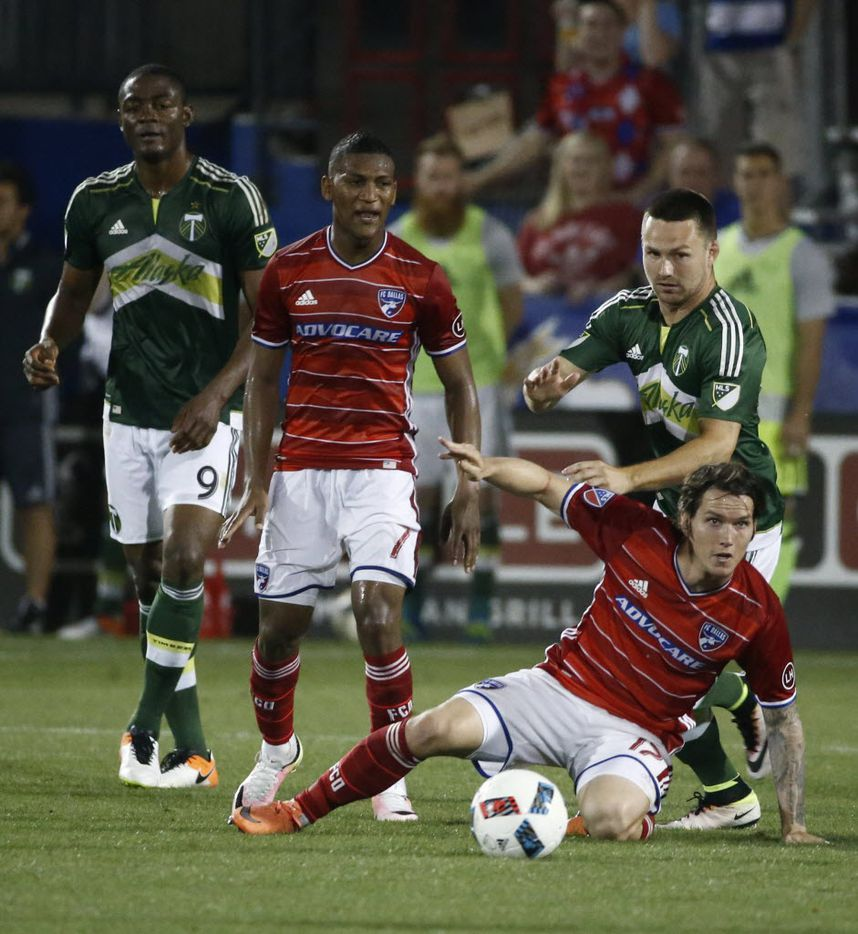 FCD at home in white short even though so is Portland.  So confusing.