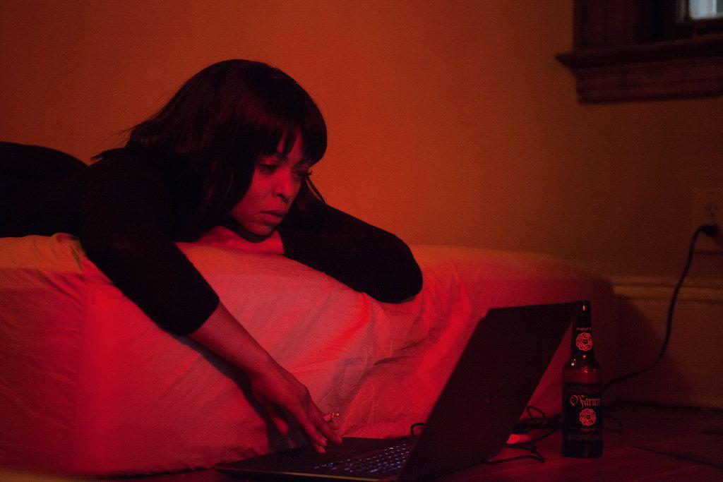 Taraji P. Henson as Melinda in Acrimony.