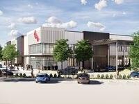 Una imagen digital de la nueva clínica comunitaria del hospital Parkland en Redbird, que se inauguró el martes.